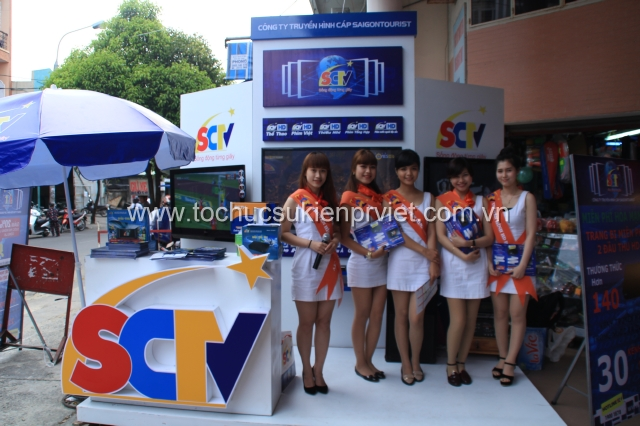Booth activation của SCTV tại Đà Nẵng