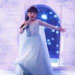 Bích Ngọc thu hút trên sân khấu bằng sự tài năng và hồn nhiên