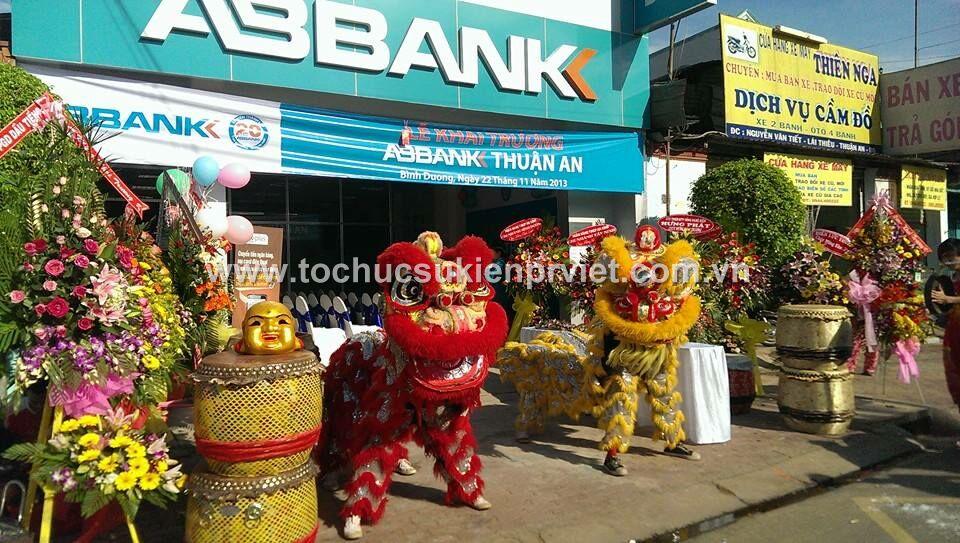 Khai Trương ABBANK Thuận An, Bình Dương