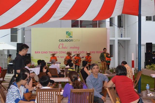 Lễ bàn giao thành công khu căn hộ khối A - CELADON CITY