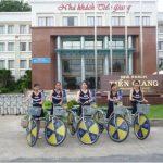 Roadshow xe đạp cho APU International School