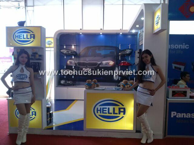 thiết kế booth trưng bày