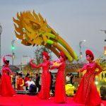 Tiết mục văn nghệ khai mạc đường hoa Xuân Đà Nẵng 2015