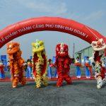 Tổ chức sự kiện Khai trương Cảng Sông Phú Định