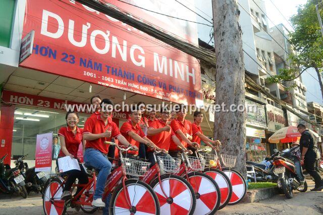 Roadshow xe đạp trường ngoại ngữ Dương Minh