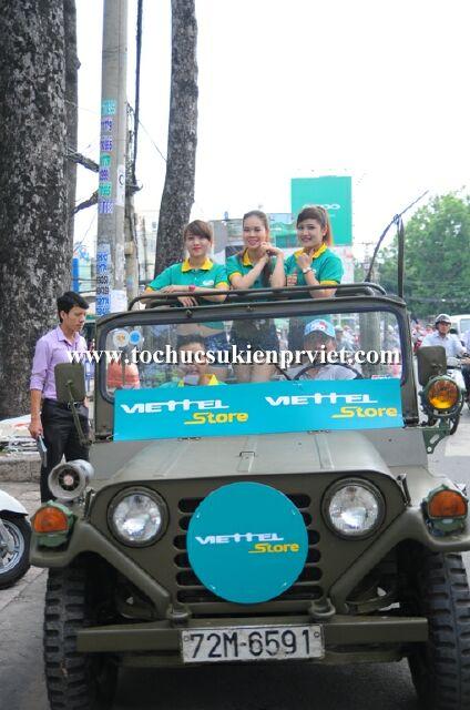 Roadshow xe jeep Viettel
