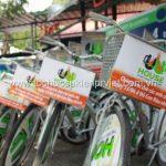 Trang trí xe đạp roadshow