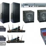 Hệ thống âm thanh tổ chức sự kiện