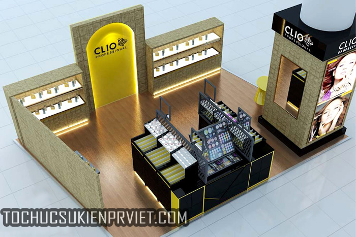 PR Việt thiết kế và thi công showroom CLIO