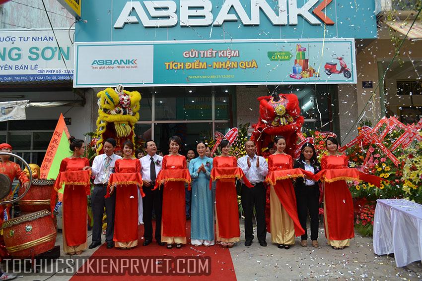 Tổ chức lễ khai trương ngân hàng An Bình Bank