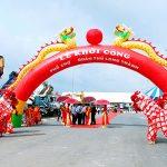 Cho thuê cổng hơi lễ khởi công ở Long Thành