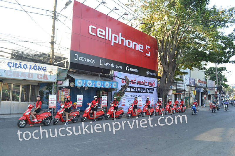 Dàn Roadshow Attila Elizabeth của CellphoneS