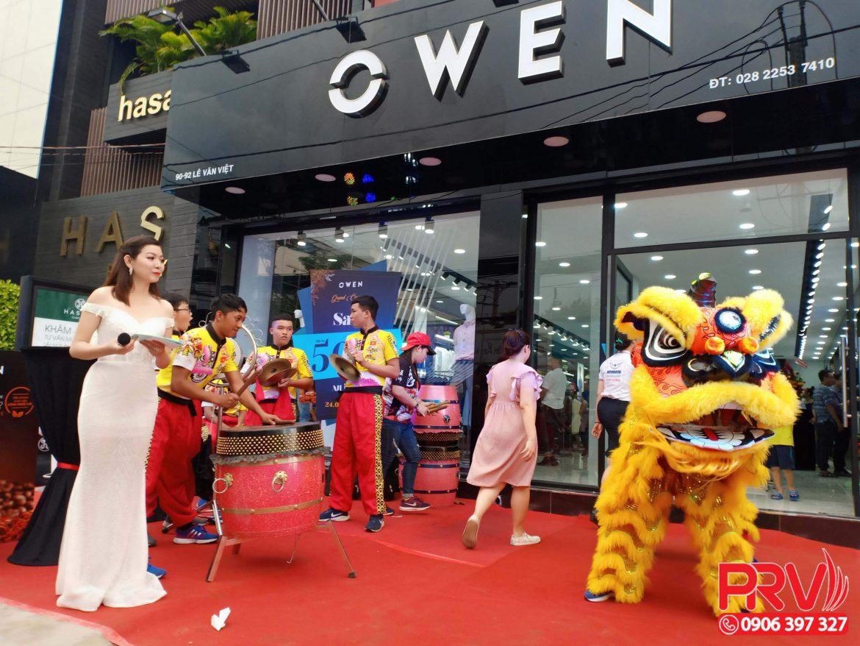 Tổ chức sự kiện khai trưởng cửa hàng OWEN