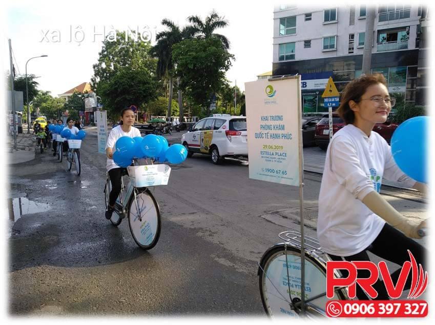 chạy roadshow xe đạp