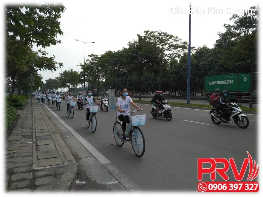 chay roadshow benh vien hanh phuc