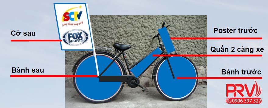 cho thuê và trang trí xe đạp