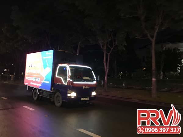 roadshow xe tải gắn đèn led