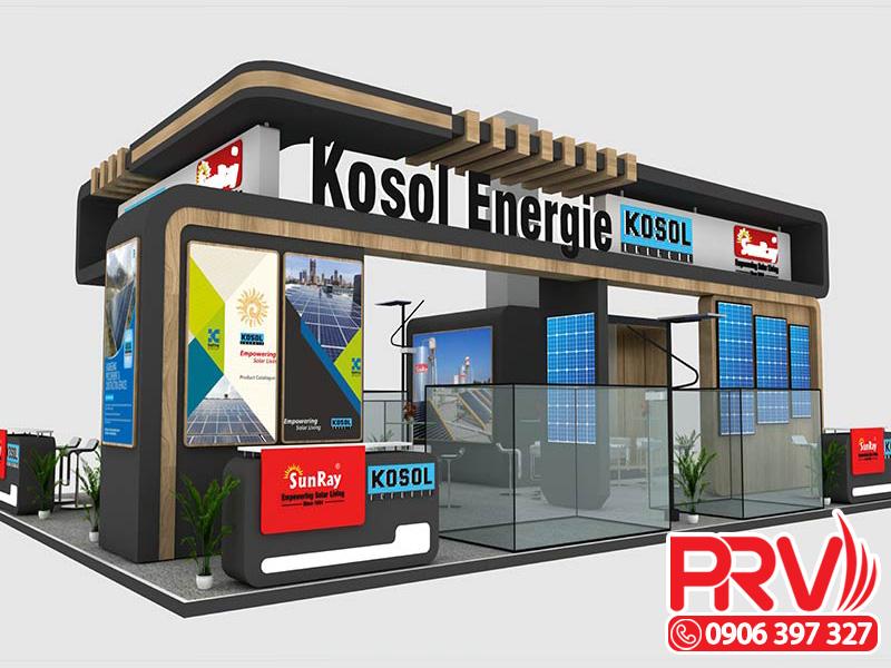 thiết kế booth trưng bày 2