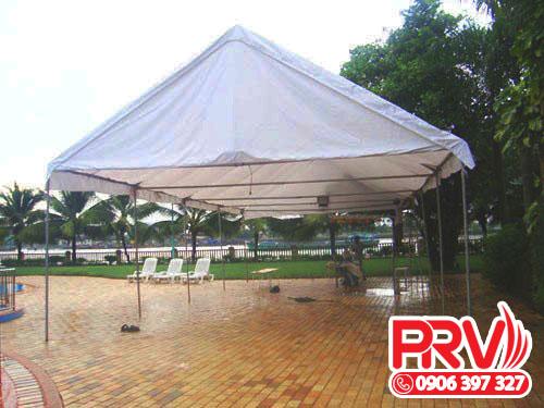 nhà lều trụ tròn công viên