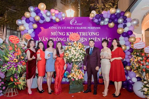 Tưng Bừng Khai Trương Văn Phòng Đại Diện Charme Pefume Tại Hà Nội - Ảnh 11