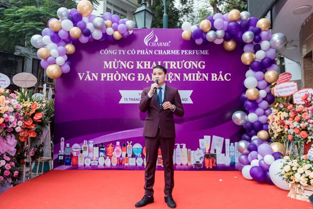 Tưng Bừng Khai Trương Văn Phòng Đại Diện Charme Pefume Tại Hà Nội - Ảnh 4