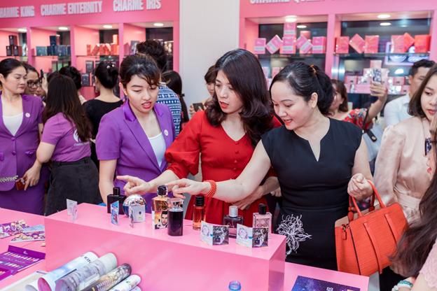 Tưng Bừng Khai Trương Văn Phòng Đại Diện Charme Pefume Tại Hà Nội - Ảnh 8