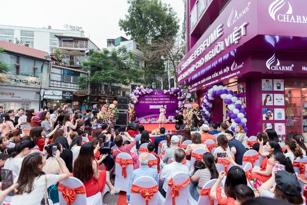 Tưng Bừng Khai Trương Văn Phòng Đại Diện Charme Pefume Tại Hà Nội - Ảnh 9