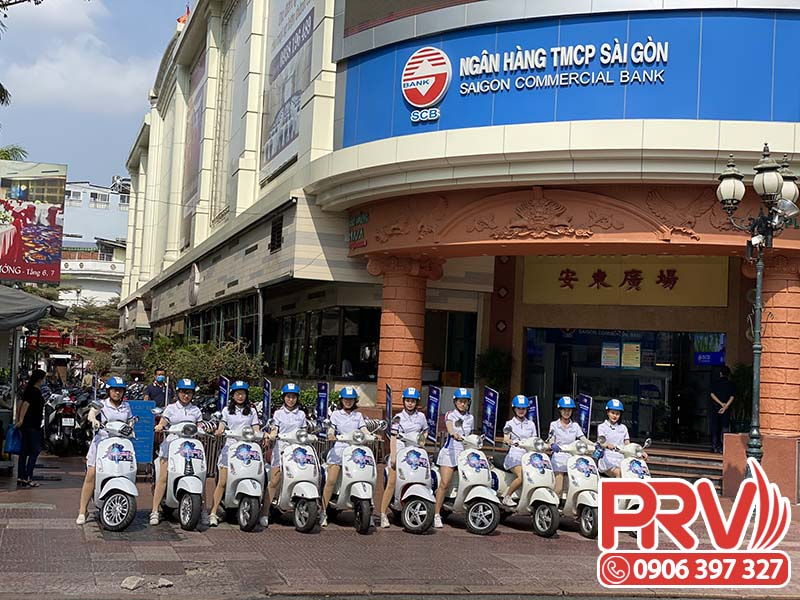 tổ chức roadshow xe máy scb