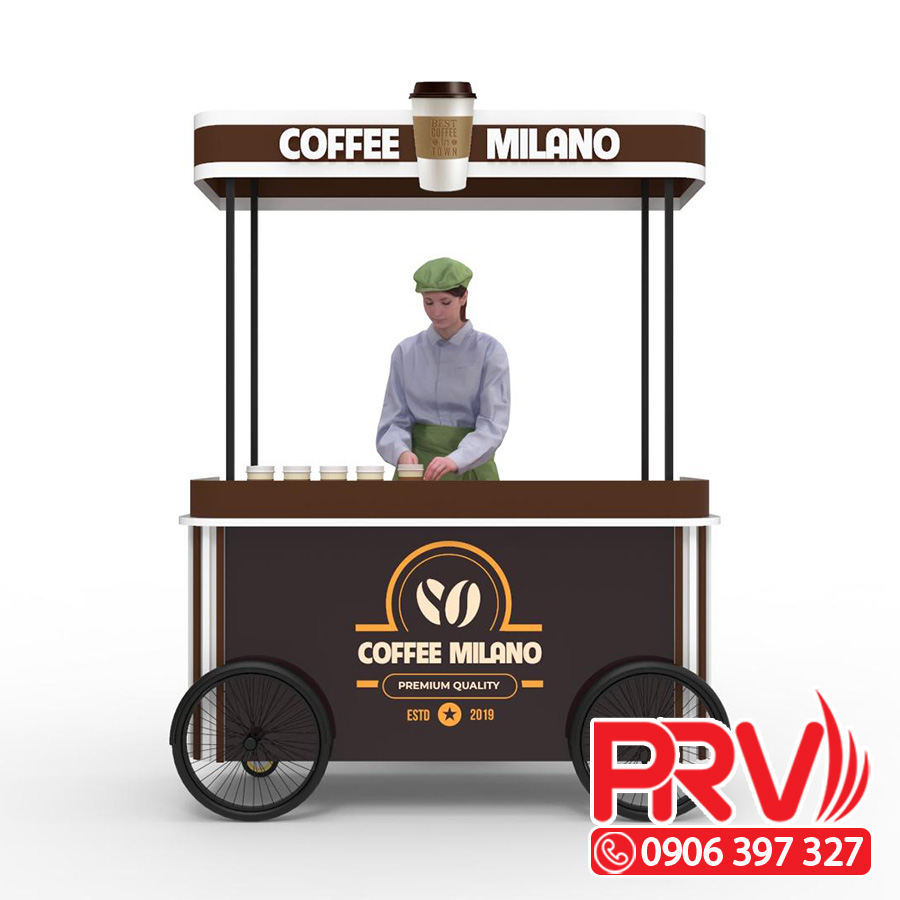 xe bán cà phê di động