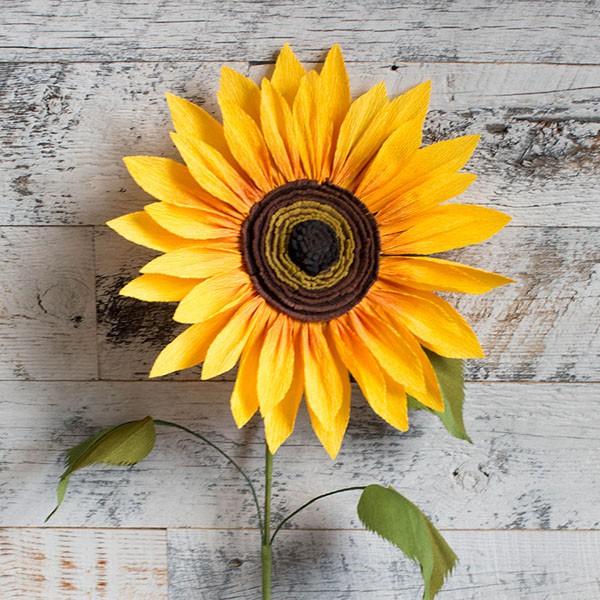 hoa giả bằng vải nỉ trang trí tết handmade